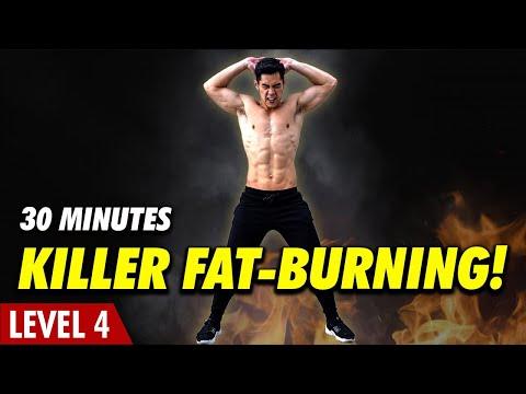 [Favourite] Level 4 - Killer Fat-Burning Home Cardio!