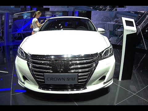 Officially NEW Toyota Crown 2016, 2017 model, biggest luxury Toyota sedans, Crown Ready for market
