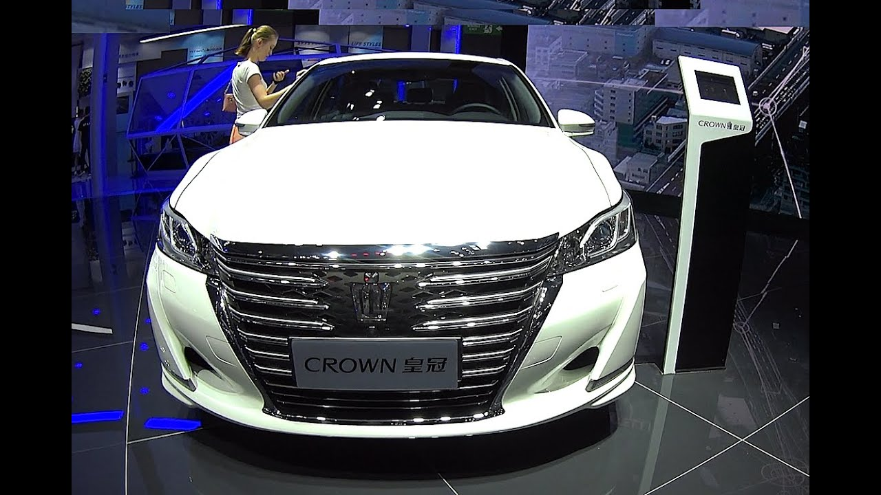 Officially New Toyota Crown 2016 2017 Model Biggest