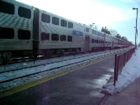 Metra Union Pacific West Line #54 01/19/2009