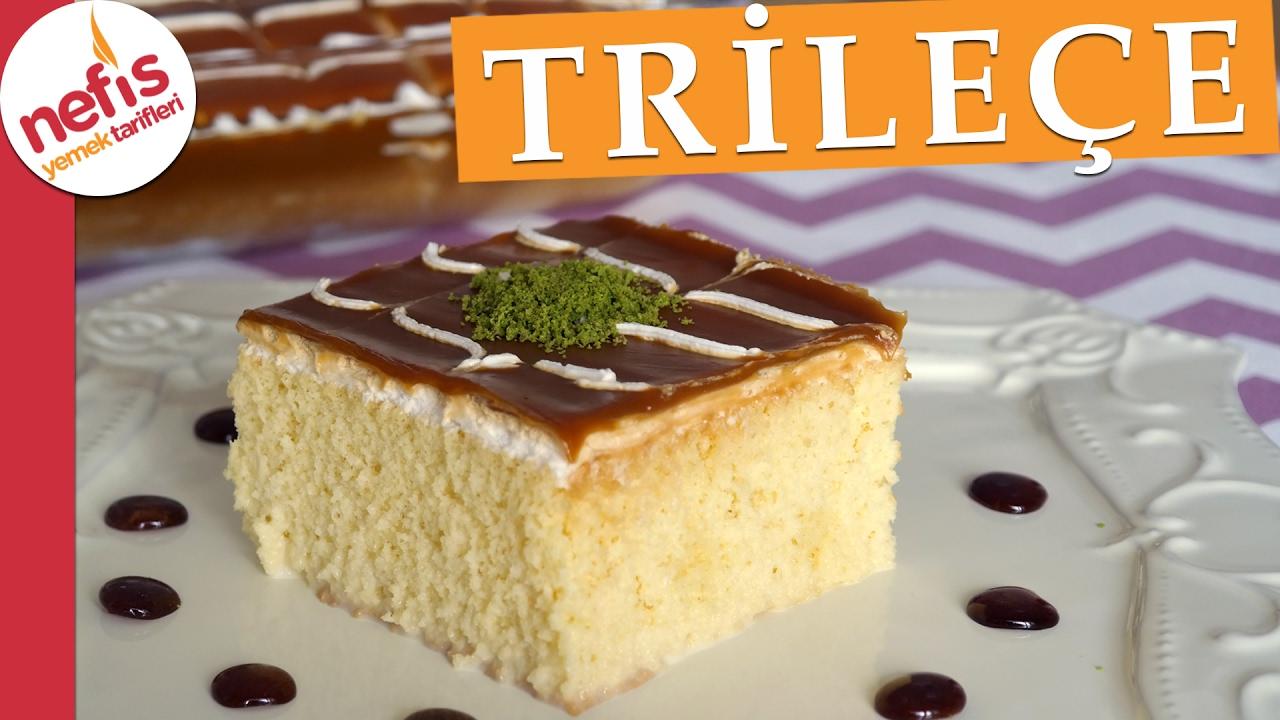 Trileçe Tatlısı Videosu