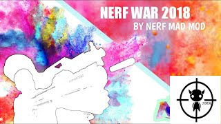 Nerf War by Nerf Mad Mod ep:1
