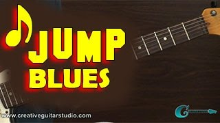 GUITAR STYLES: Swing, Jump Blues Melody