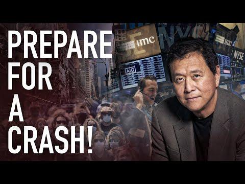"""Rich Dad Poor Dad"" Robert Kiyosaki: The Biggest Stock Market Crash In World History Is Co"