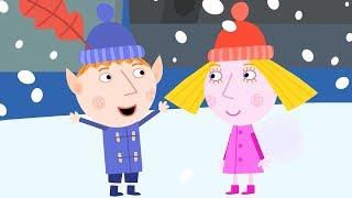 Le Petit Royaume de Ben et Holly ❄️La  neige ❄️ Dessin animé | Ben et Holly Noël