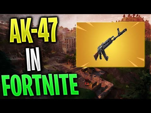 NOUL AK-47 In FORTNITE !? - ARMA ASTA E MULT PREA OP !