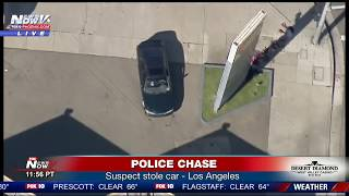 LIVE: Police Chase Los Angeles