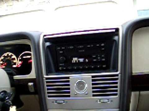 2004 aviator 4vip  05 Lincoln Aviator sound system