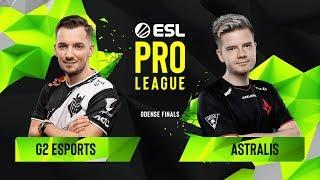 CS:GO - Astralis vs. G2 Esports [Train] Map 3 - Group B - ESL Pro League Season 10 Finals