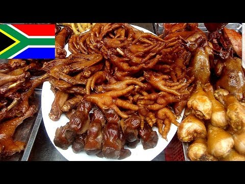 South Africa street food tour in Johannesburg