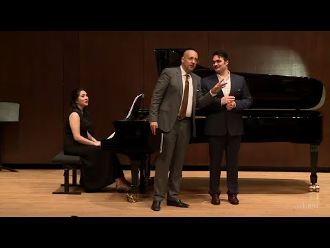 Act 1 Duet from Massenet's 'Werther' | Juilliard Emmanuel Villaume Vocal Arts Master Class