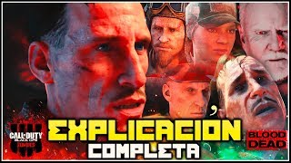 EXPLICACIÓN CINEMÁTICA FINAL BLOOD OF THE DEAD || TODO RESUELTO (Black Ops 4 Zombies)
