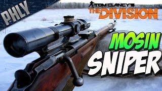The Division Closed Beta - MOSIN-NAGANT SNIPER - The Division Gameplay