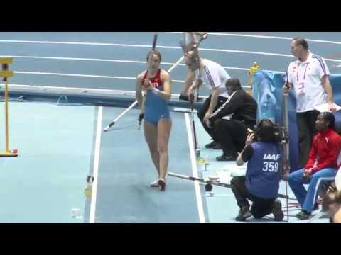 Anastasia Savchenko 2014,  a Russian female pole vaulter   YouTube