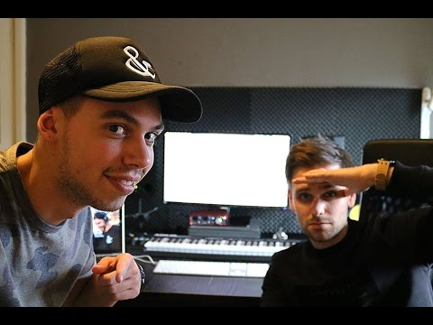 Tom & Jame in the studio showing how they made a Track