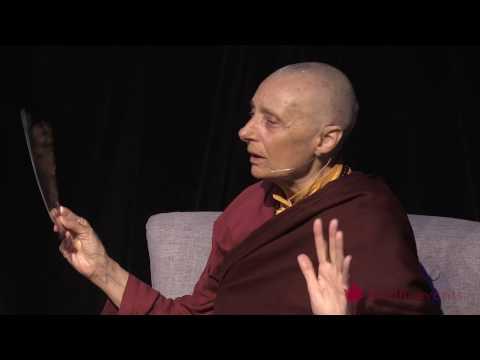 Tenzin Palmo Teaching, Wheel of Life, Samsara in the Raw 4 of 12