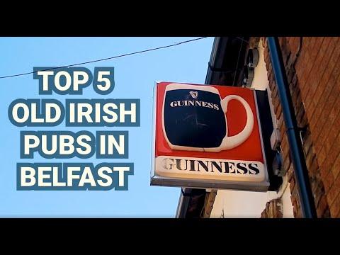Top 5 Old Irish Pubs In Belfast