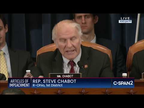 Congressman Chabot's Remarks from 12/11 House Judiciary Markup