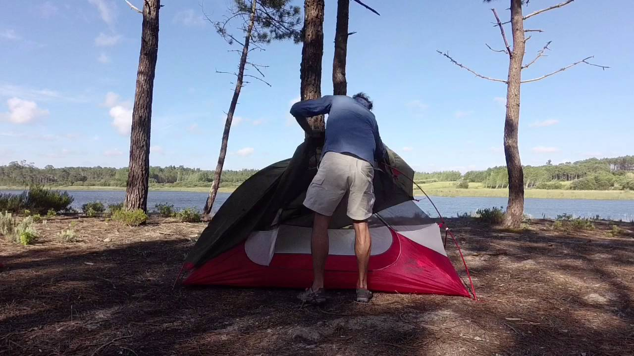 MSR Hubba nx 1p tent review & MSR Hubba nx 1p tent review - YouTube