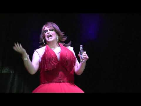 Mary Edith Pitts  - 12 Days/Daze Of Christmas - Drunk Drag Queen - Starlight Cabaret Show 2009