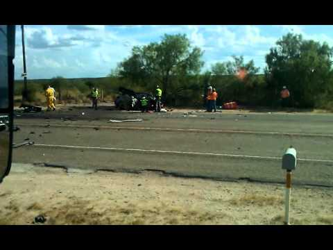 Bad truck accident in zapata Tx