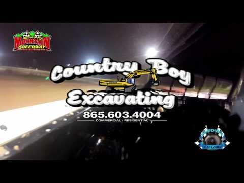#C9 Chris Johnston - Sportsman - 5-13-17 Smoky Mountain Speedway - In-Car Camera