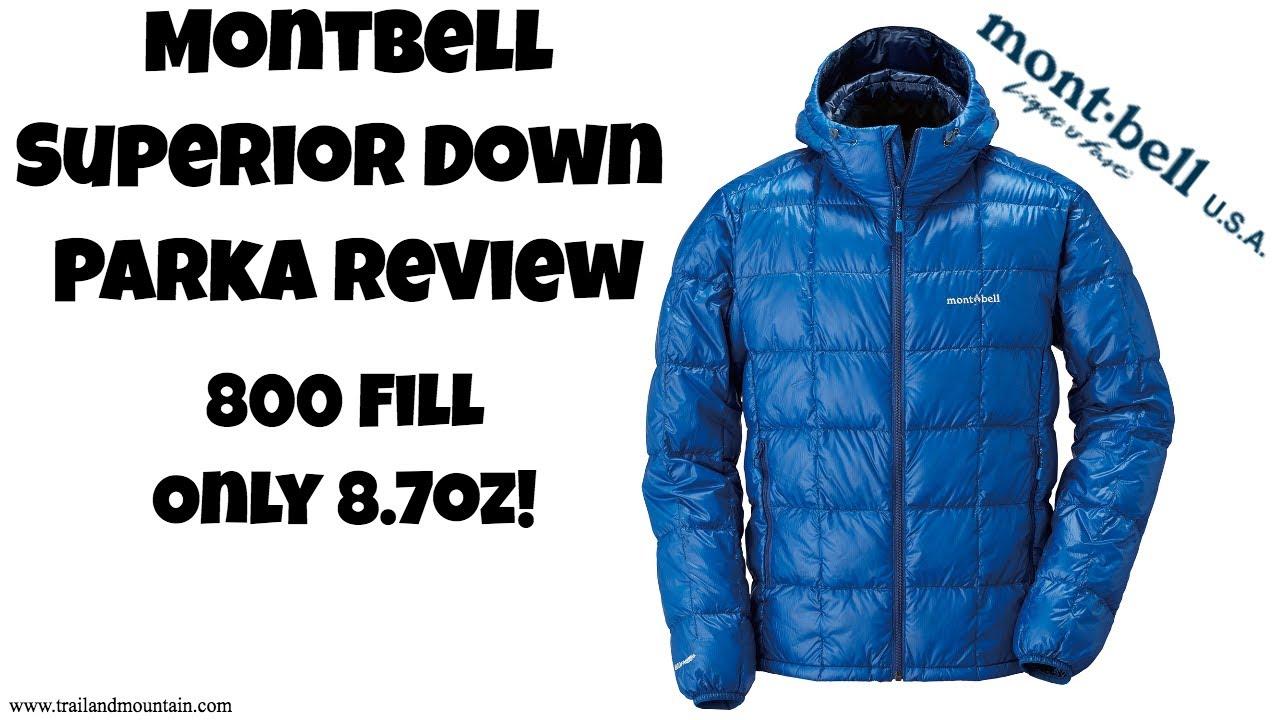 e4e02e53150 Montbell Superior Down Parka Review - YouTube