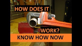 How to Use a Pipe Wrench