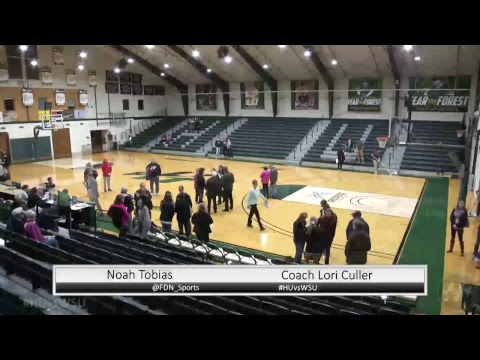 HU Women's Basketball vs. Wright State University - Lake (OH) -- 11.17.17