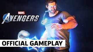 Marvel's Avengers - 7 Minutes of Official Thor Mission Gameplay