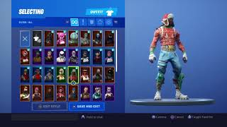 VERY RARE FORTNITE ACCOUNT GIVEAWAY! CHRISTMAS GIVEAWAY! OG SKINS DARK KNIGHT AC/DC PICKAXE