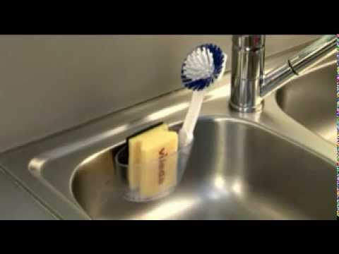 Контейнер для мытья посуды Joseph Joseph Wash&Drain™ видеообзор .
