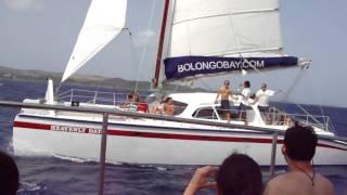 Catamaran ride in St Thomas, USVI