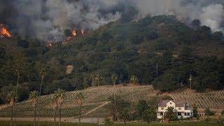 Bozóttűz pusztít Kaliforniában, többen életüket vesztették