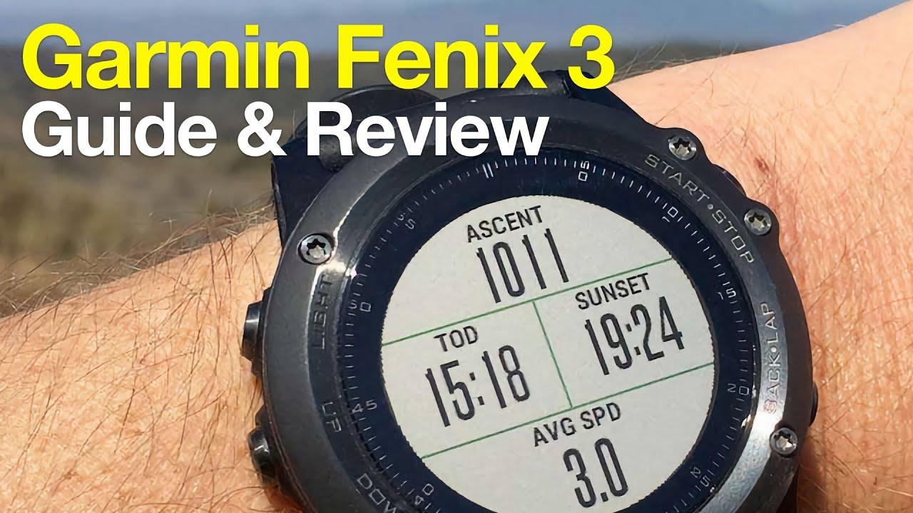 Garmin Fenix 3 Hiking GPS Review   YouTube