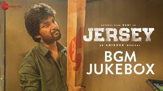 Gambar cover Jersey - BGM | Audio Jukebox | Nani & Shraddha Srinath | Anirudh Ravichander
