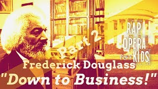 Frederick Douglass Biography for Kids Rap Song, Part 2 with Multisyllabic Words Worksheets