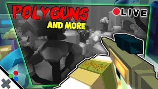 Roblox POLYGUNS and More Games Live