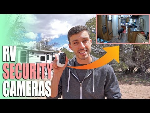 Protect Your RV! - Boondocking Security Camera System - Reolink Argus 2