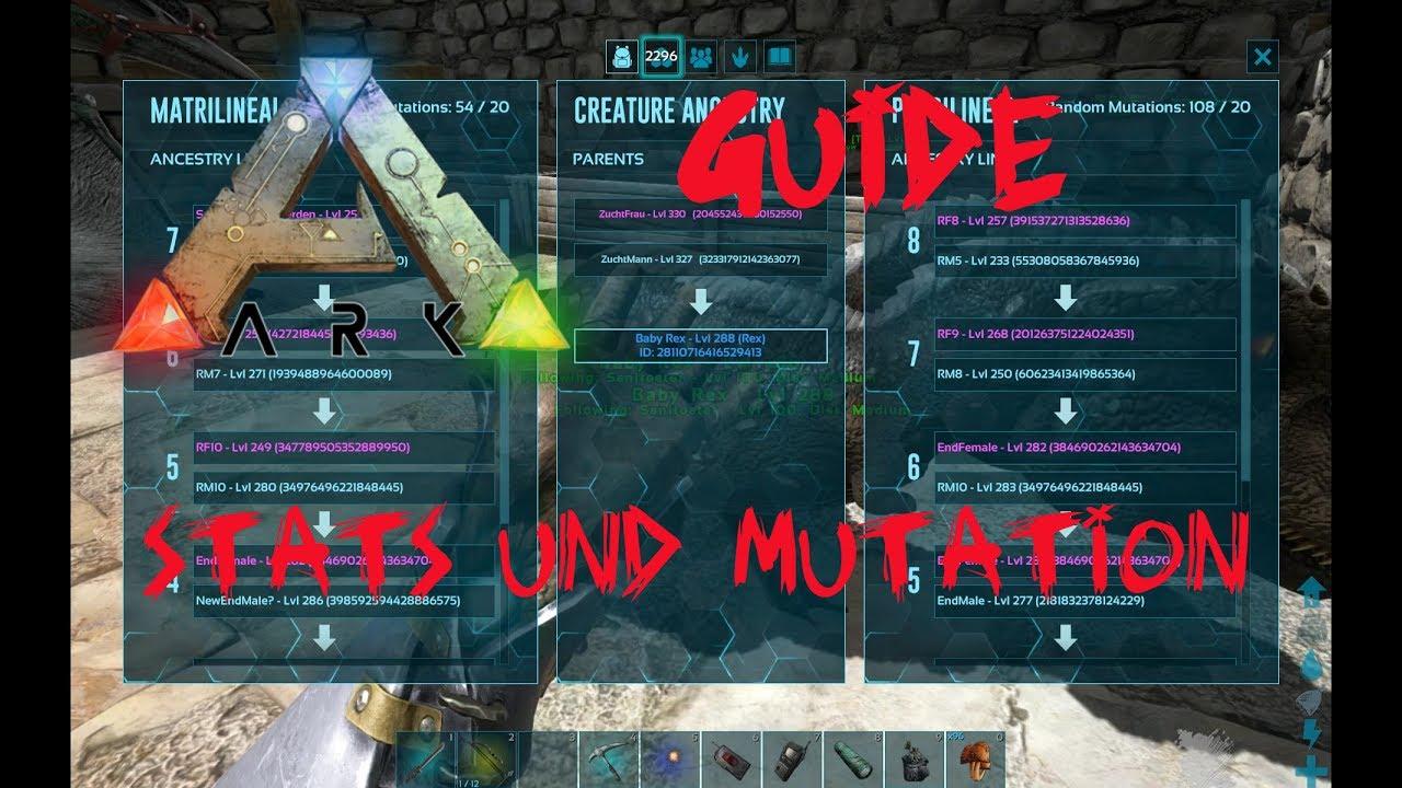 Good ARK Survival Evolved: Guide   Stats Und Mutationen