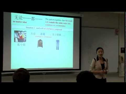 2nd Year Chinese Speaking & Listening Class Xiaoying Ding