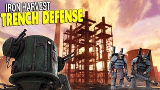 LAST STAND TRENCH BASE DEFENSE | Iron Harvest Gameplay