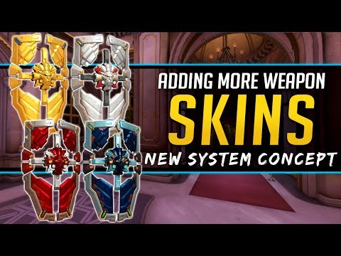 Overwatch More Golden Type Skins - New Improved System Concepts thumbnail