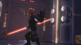 Disney Infinity 3.0 Gameplay Part 5 - Darth Maul Final Boss - Twilight of the Republic Playset