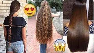Extreme Long Hair Cutting 2018