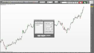 How to search for specific candlestick patterns using free software.