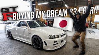video thumbnail of Buying My Dream R34 Skyline GTR in Japan!