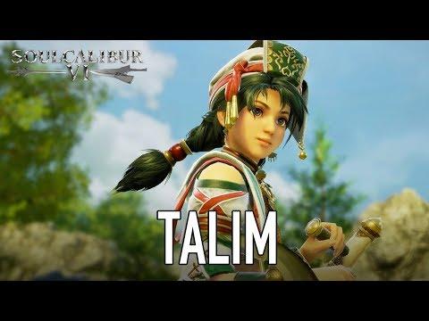 SOULCALIBUR VI - PS4/XB1/PC - Talim (character announcement trailer)