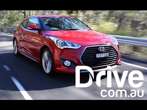Hyundai Veloster SR Turbo Plus She says, He Says Review Drive.com.au