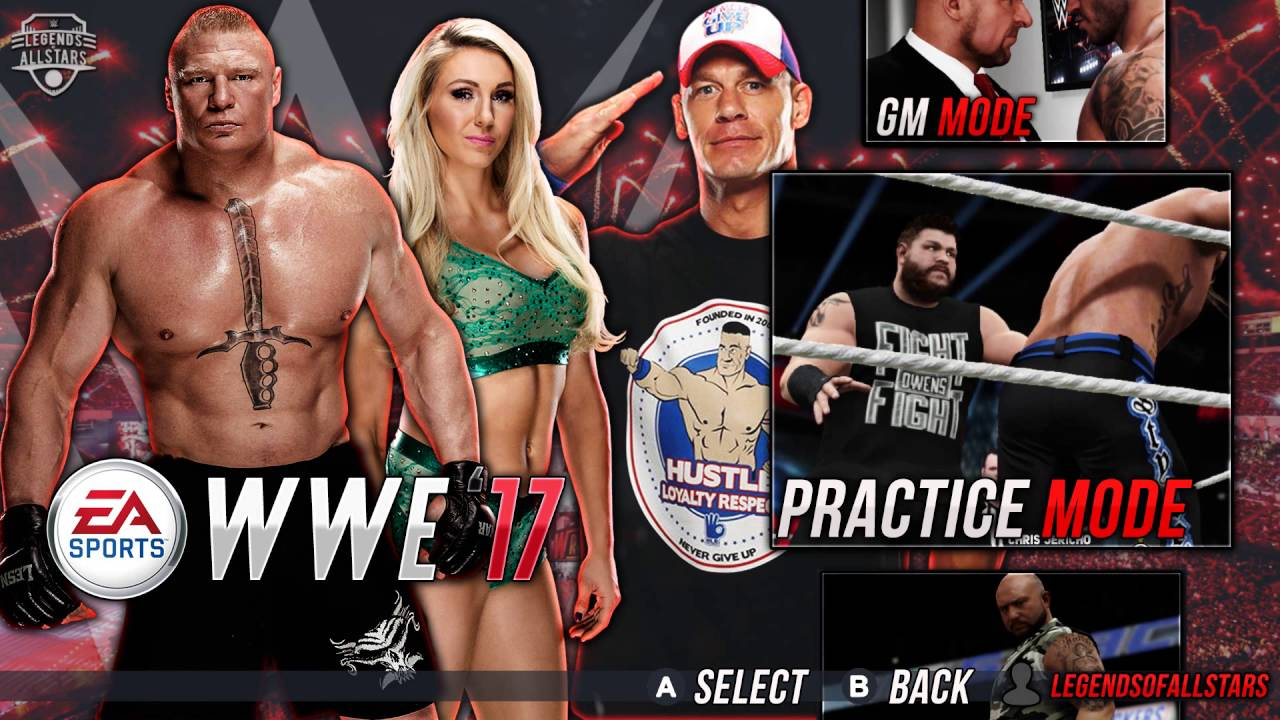 Sports Games For Ps4 : Wwe by ea sports what if made games